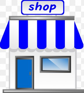 Shop Cliparts - Shopping Storefront Clip Art PNG