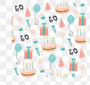 Birthday Celebration Party Background - Birthday Cake Party Pattern PNG