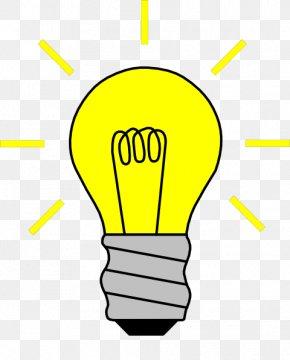 A Picture Of A Light Bulb - Incandescent Light Bulb Electric Light Clip Art PNG
