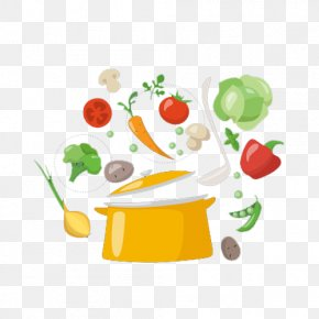 Vegetable Sauce Pot - Vegetable Stock Sauce Condiment PNG