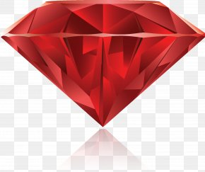 Gemstone - Gemstone Ruby Diamond Drawing PNG
