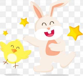Zodiac, Chicken, Zodiac, Rabbit - Easter Bunny Rabbit Chicken Clip Art PNG