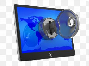 Unlock Computer - WannaCry Ransomware Attack Computer Security Malware PNG