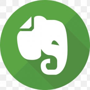 Logo Mark Icon - Evernote PNG