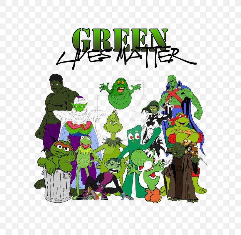 Oscar The Grouch Grover Kermit The Frog Martian Manhunter