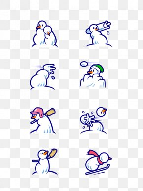 White Snowman - Snowman PNG