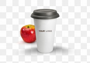 Apple And Interchangeable Logo Cups - Mug Apple Logo Cup PNG