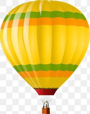 Color Hot Air Balloon - Balloon Dog Hot Air Balloon Clip Art PNG