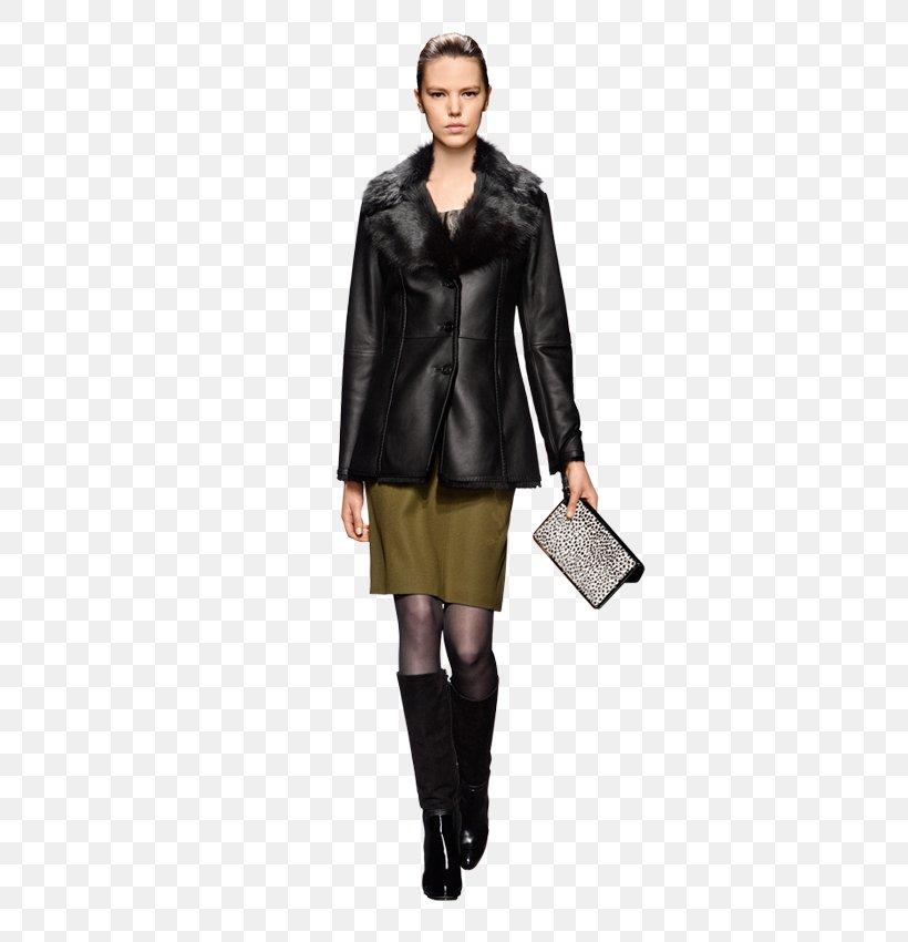 Coat Leather Jacket Leather Jacket Sleeve, PNG, 600x850px, Coat, Fashion, Fashion Model, Fur, Jacket Download Free