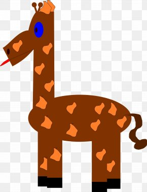 Giraffe - Northern Giraffe Baby Giraffes Clip Art PNG