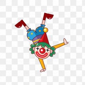 Cartoon Clown - Clown Circus Cartoon PNG