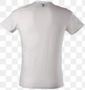 White T-shirt Image - T-shirt Clothing Collar PNG