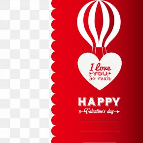 Valentine's Day Card Creative - Valentine's Day Heart Romance Euclidean Vector PNG