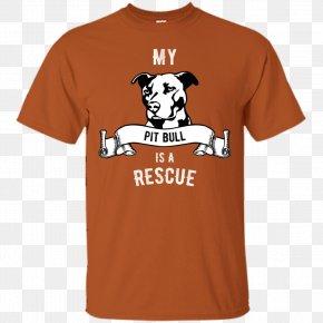 T-shirt - T-shirt Hoodie Pit Bull Sleeve PNG