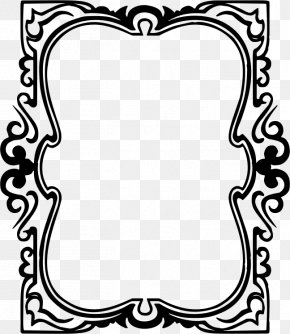 Drawn - Picture Frames Ornament Decorative Arts Clip Art PNG