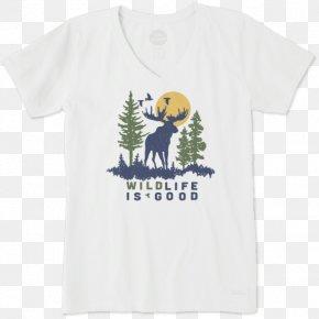 T-shirt - Printed T-shirt Sleeve Life Is Good Company Clothing PNG