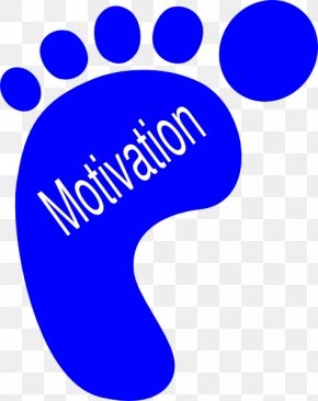 Motivational Cliparts - Footprint Clip Art PNG