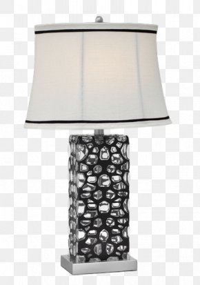 Table Lamp - Table Lamp Glass Steel PNG