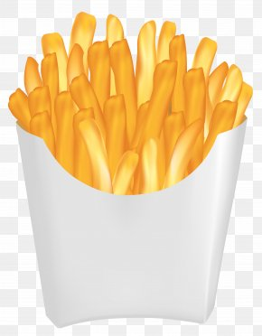 French Fries Vector Clipart Image - Hamburger French Fries Fast Food Clip Art PNG