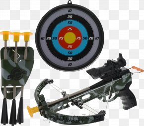 Bow - Crossbow Shooting Arrow Toy Weapon PNG