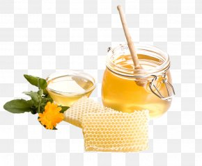 Honey - Honey Bee Honey Bee Honeycomb PNG