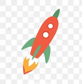 Cartoon Rocket Vector - Rocket Cartoon Download PNG
