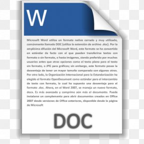 Doc - Document File Format Text File PNG