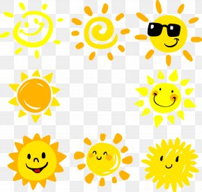 Cartoon Sun - Light Sun PNG