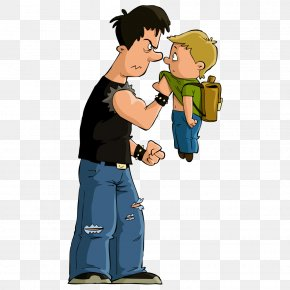 Students Bully Child - Bullying Cartoon Clip Art PNG
