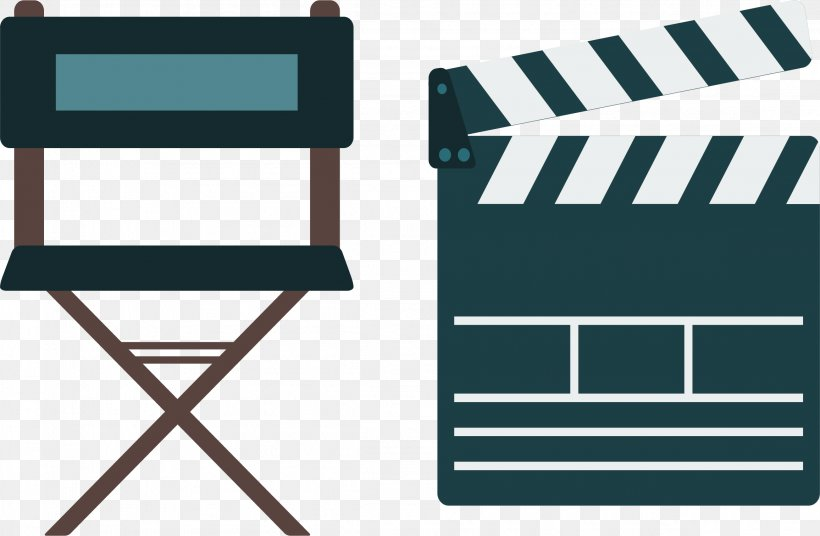 Film Producer Film Director, PNG, 2312x1513px, Film Producer, Blue, Brand, Chair, Clapperboard Download Free