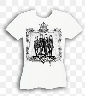 T-shirt - T-shirt White Sleeve Outerwear Font PNG