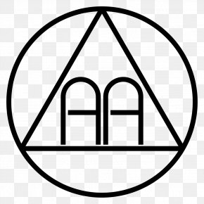 Alcoholics Anonymous Logo - The Big Book Alcoholics Anonymous Alcoholism Twelve-step Program Logo PNG