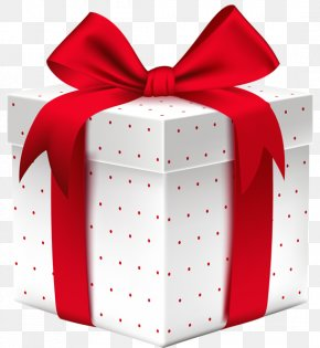 Gift Box - Christmas Gift Decorative Box Clip Art PNG