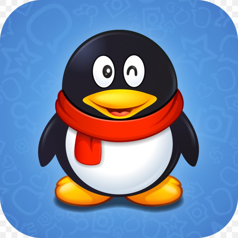 Tencent Qq Windows Phone Instant Messaging Png 1024x1024px Tencent Qq App Store Beak Bird Email Download