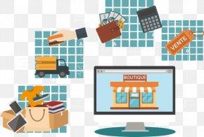 Panier Commerce - Graphic Design Work Of Art PNG
