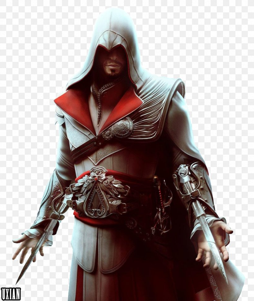 Assassin's Creed: Brotherhood Ezio Auditore Assassin's Creed: Ezio Trilogy Assassin's Creed II Video Game, PNG, 862x1023px, 4k Resolution, Ezio Auditore, Assassin S Creed, Assassin S Creed Ii, Assassins Download Free