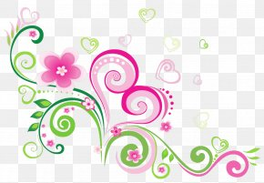 Green Floral - Father's Day Brother Wish Sister PNG