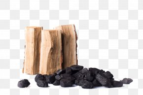 Wood And Coal - Firewood Coal PNG