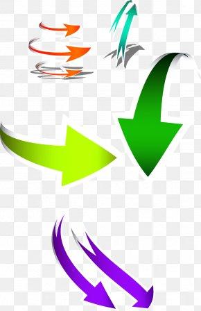 Dynamic Arrow - Euclidean Vector Arah Clip Art PNG
