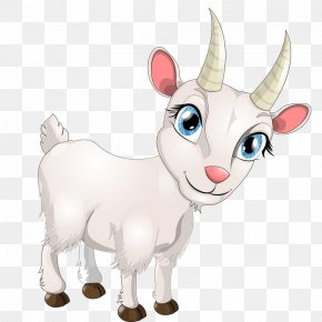 Goat - Goat Sheep Cartoon PNG