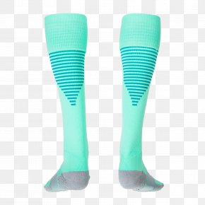 Socks - Turquoise Aqua Electric Blue Cobalt Blue Teal PNG