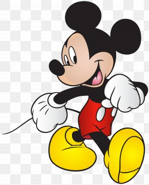Mickey Mouse Free Clip Art Image - Mickey Mouse March Donald Duck Minnie Mouse PNG