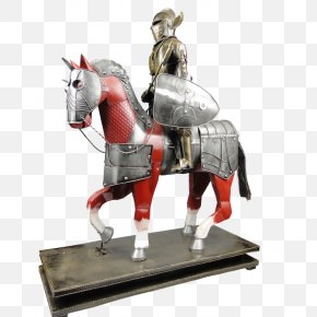 Brave Knight - Middle Ages Knight Horse Body Armor Armour PNG