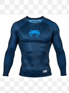 T-shirt - T-shirt Venum Rash Guard Mixed Martial Arts Clothing PNG