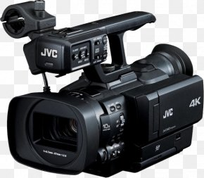 Camera - JVC GY-HMQ10 Compact 4K Camcorder With AVCHD Ex-Demo 32537 Video Cameras JVC GY-HM200 Professional Video Camera PNG