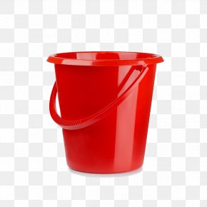 Red Bucket Bucket White Pull Away - Stock Photography Bucket Royalty-free Watering Can PNG