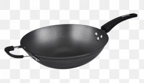 Pointed At The End Of Cast Iron Cookware - Frying Pan Wok Cookware Lid Stock Pots PNG