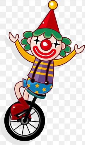 Clown Vector - Joker Clown Circus Juggling PNG