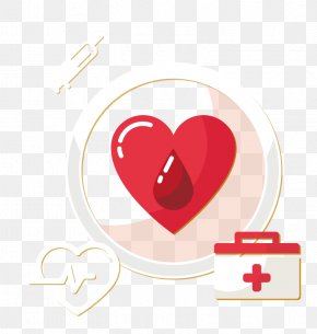 Vector Heartbeat Ambulance - First Aid Kit Clip Art PNG