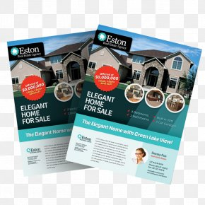 Flyer A4 - Brochure Real Estate Flyer Template House PNG